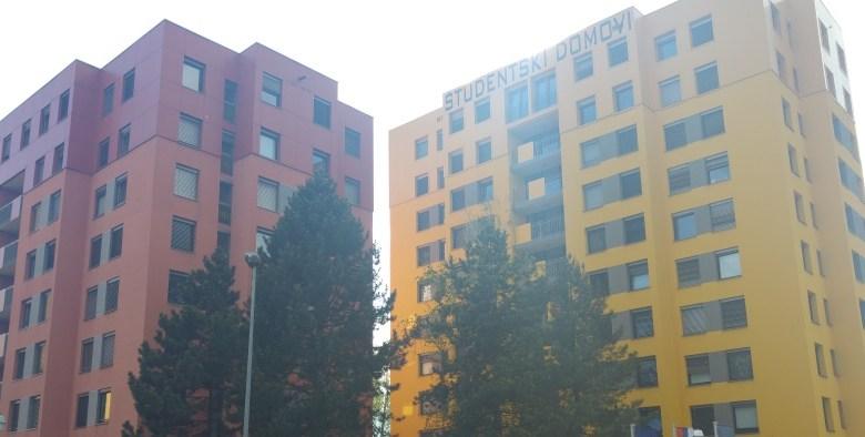 Študentski domovi v Mariboru.