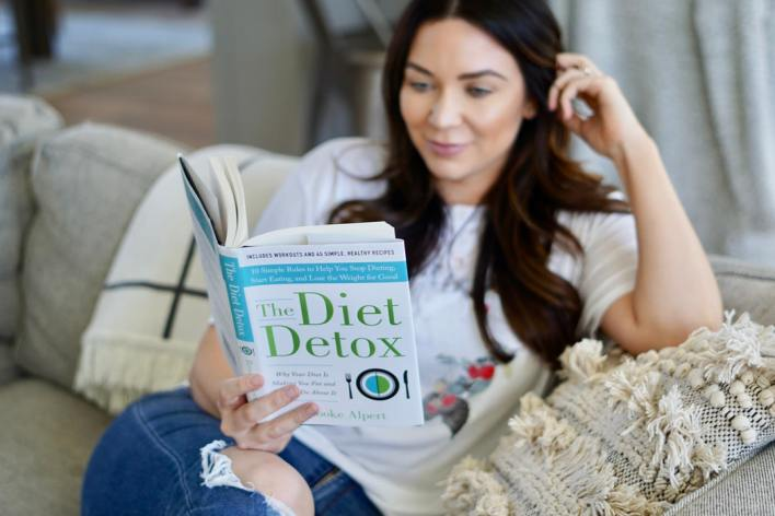Branje knjige diet