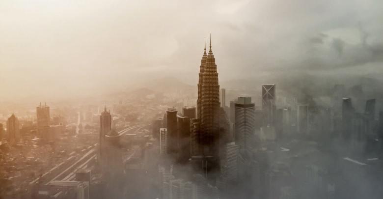Onesnažen zrak v mestu