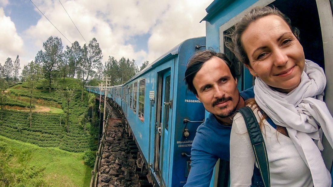 Z vlakom po Širilanki