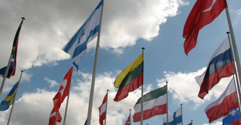 Zastave sveta pred Organizacijo združenih Narodov