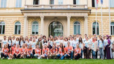 Photo of Prostovoljstvo in druženje s tujimi študenti na konferenci SCiM