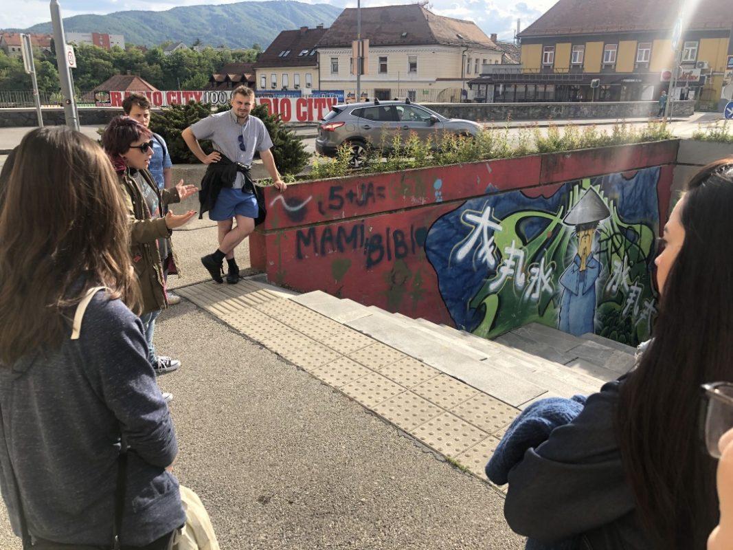grafiti, Maribor, utrip mesta,