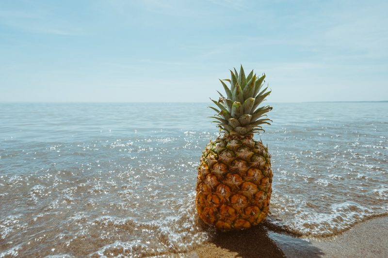 banana, zdrava prehrana, dobro počutje, ananas, mango, grozdje