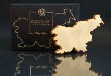 Photo of Čokoholiki pozor! Luksuzna zlata čokolada v obliki Slovenije
