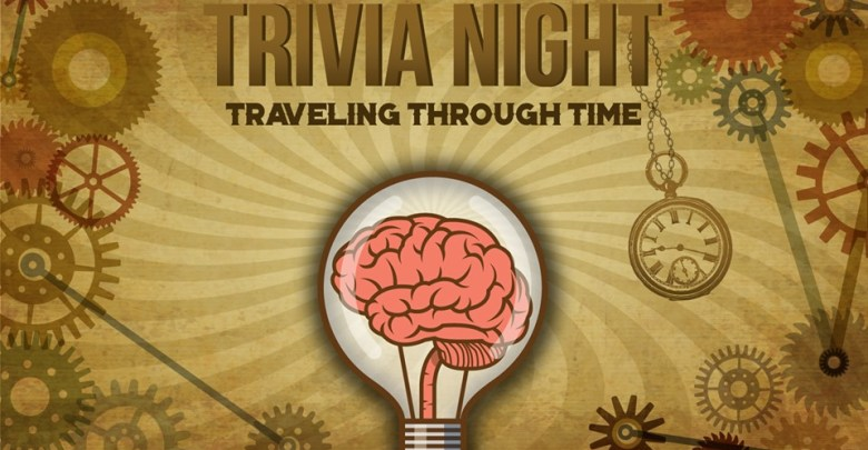 Back in Time, znanje, trivia night,