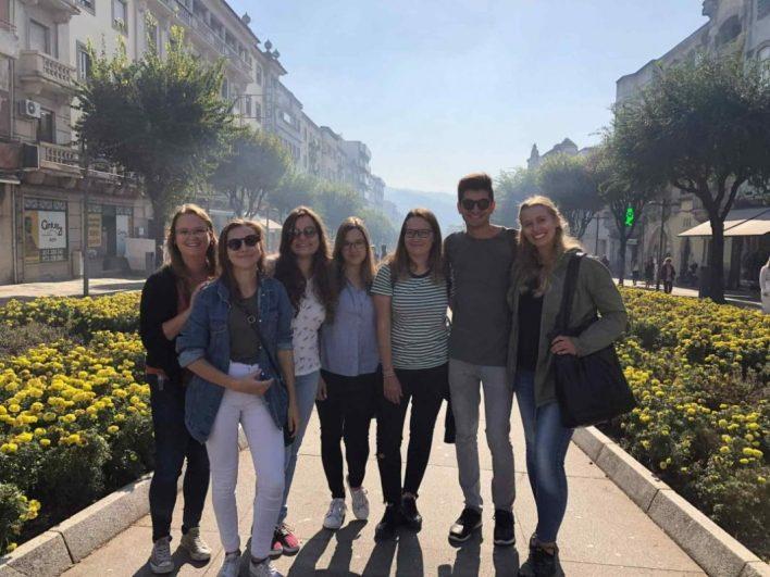 Študent vandra, Erasmus, portugalska, države, Porto, ŠOUM, London, mesto,