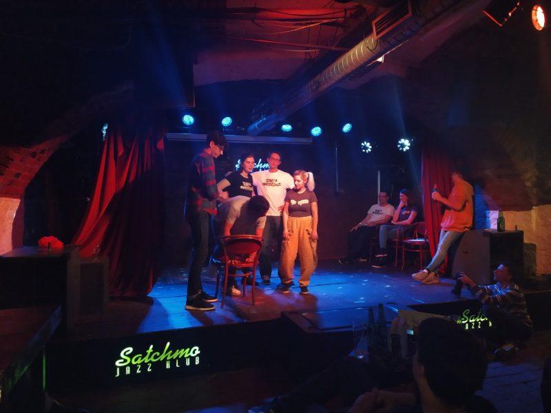 Banda Ferdamana, improvizacijsko gledališče, Maribor, Mirjam Fašmon, Blendor Sefaj, Šolska impro liga, Štajerske štorije