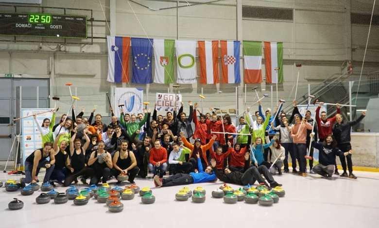 Državno univerzitetno prvenstvo, curling, DUP, Slovenska univerzitetna športna zveza, SKUPINSKI DEL, Curl,