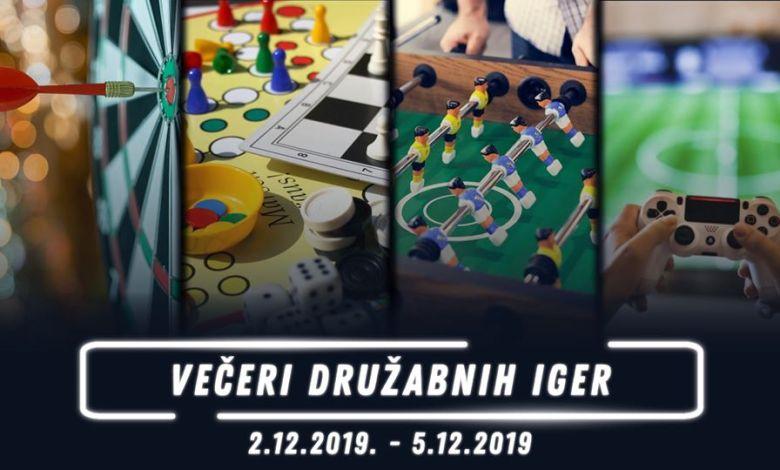 Večeri družabnih iger, December, ŠOUM, Štuk,