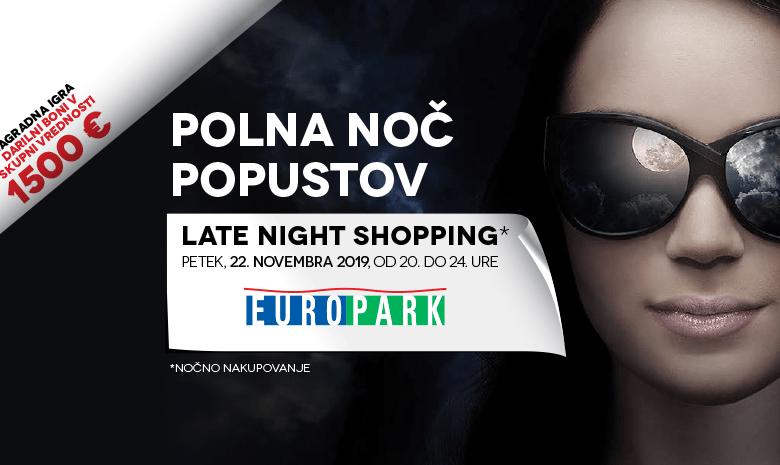 noč popustov, europark, Maribor, Late Night Shopping