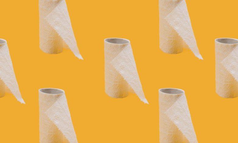 Toaletni papir, WC papir, higiena, čiščenje, zgodovina