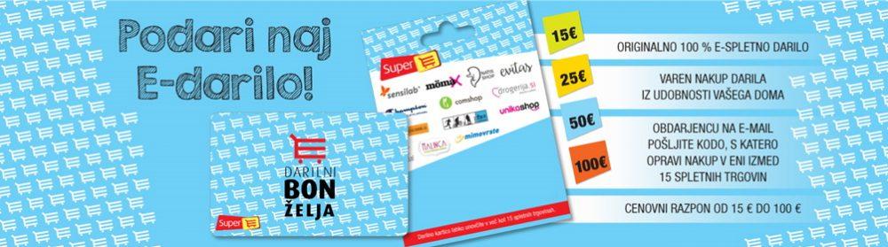 spletnih trgovin, SelectBox, e-darila, darila, vrednostne kartice, oglas, darilo, e-darilo, splet, nakup