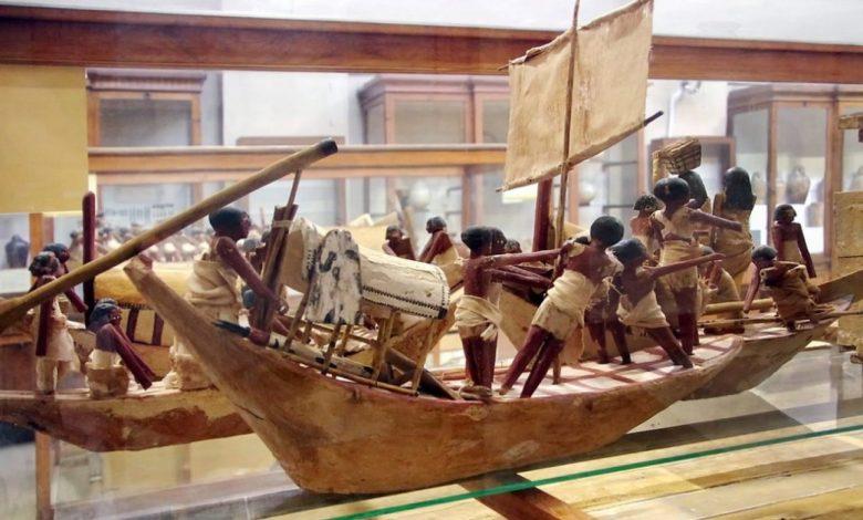 egipt, Egiptovsko ministrstvo za turizem in starine, muzej, voden ogled,