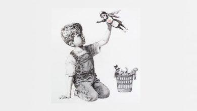 Banksy, splošni bolnišnici, Southampton, Deček,