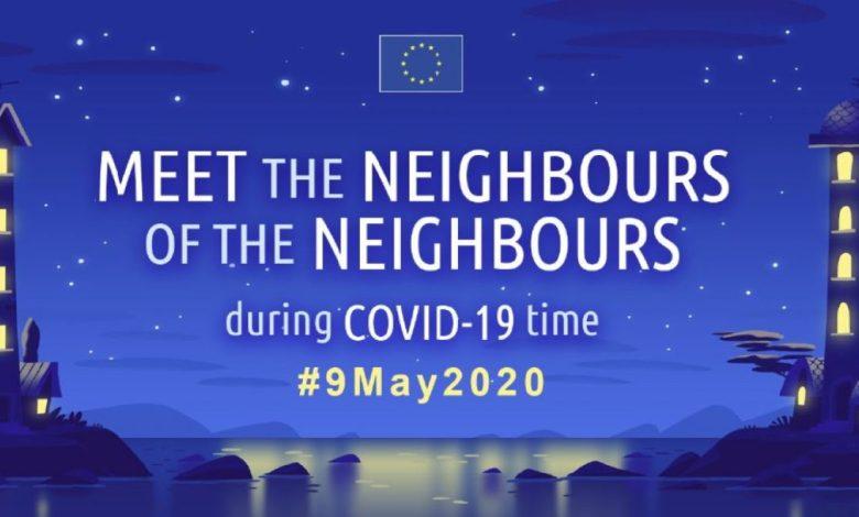 Spoznaj sosede sosedov, Podpora Evropskim filmskim festivalom, evropska komisija, Covid-19,