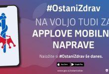 Photo of Aplikacija #OstaniZdrav na voljo tudi uporabnikom operacijskega sistema iOS