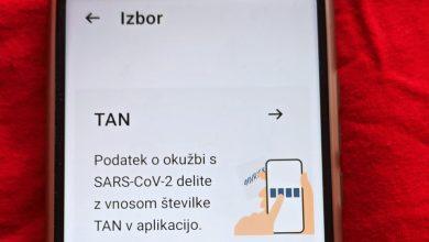 Photo of Zaradi epidemioloških razmer veljavnost kode TAN podaljšana na tri ure
