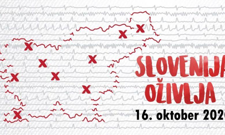 Svetovni dan oživljanja, Slovenija oživlja 2020, rešijo življenje, oživljanje, Moja pesem lahko reši življenje,