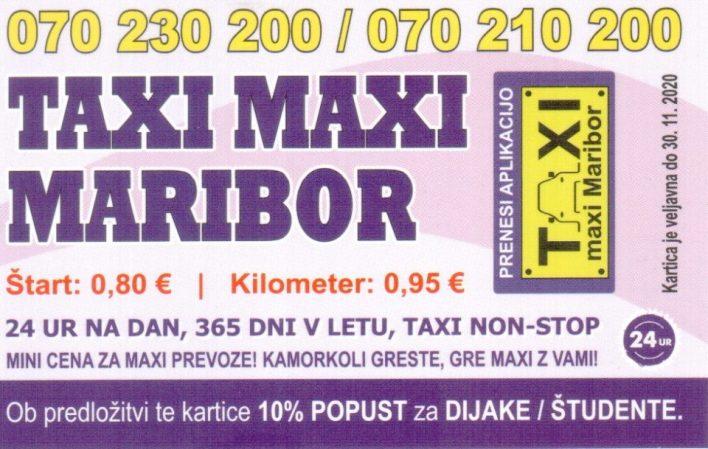 vožnjo, taksi, taxi maxi, maribor