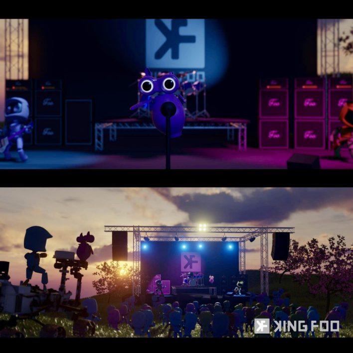 King Foo, video
