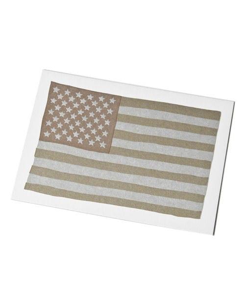 【HAMMERPRESS(ハンマープレス)】USA FLAGカード
