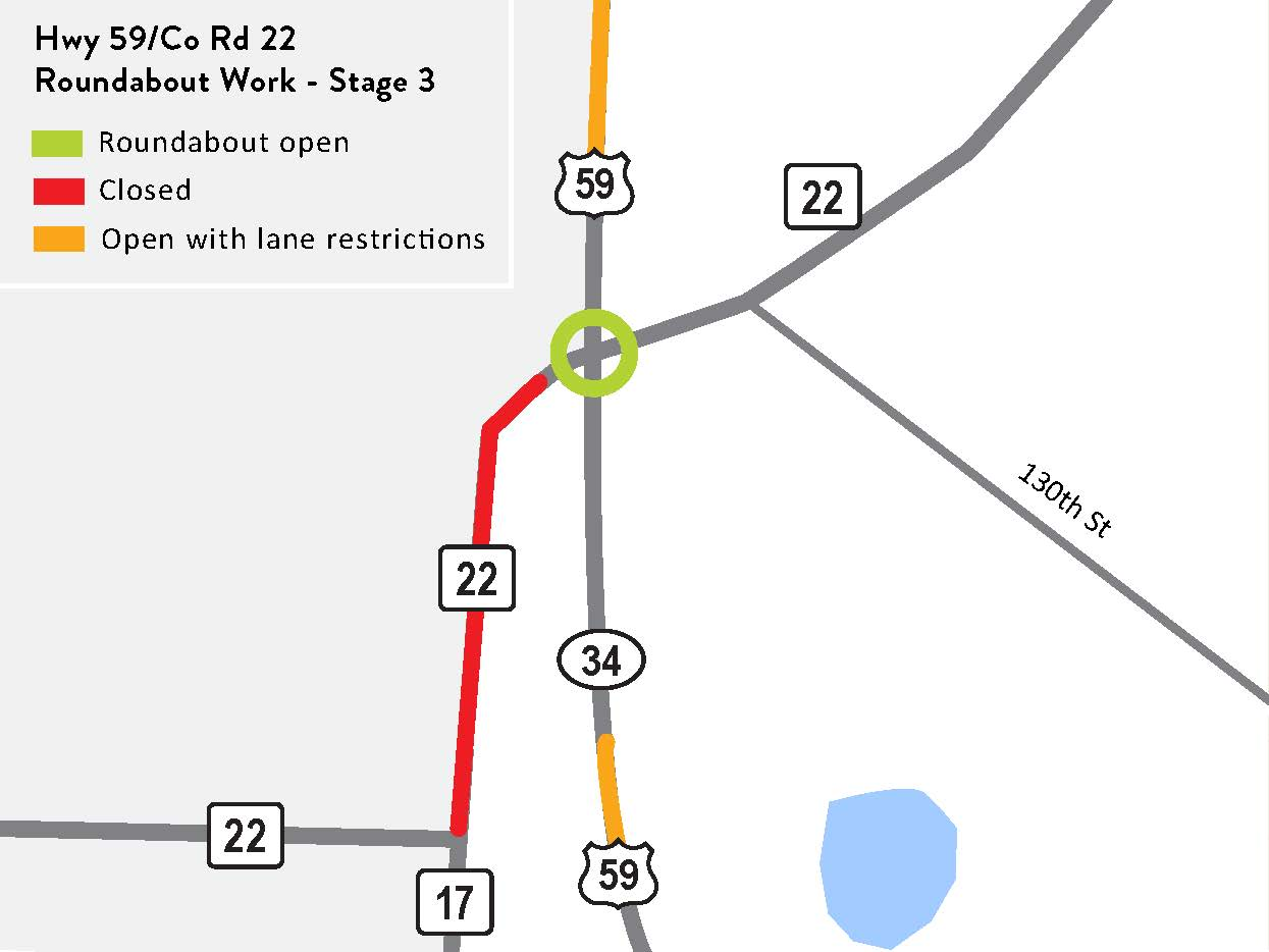 Hwy 59 Roundabout Project