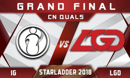 IG vs LGD Grand Final CN Starladder i-League 2018 Highlights Dota 2
