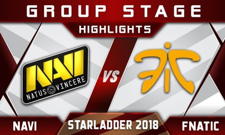 NaVi vs Fnatic [EPIC] Starladder 2018 ImbaTV Minor Highlights Dota 2
