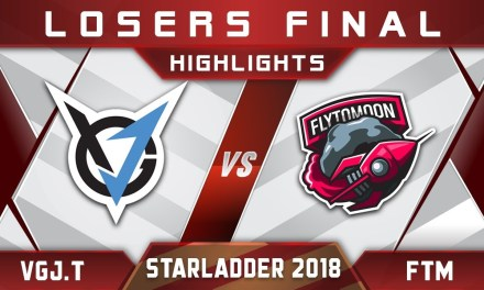 VGJ.T vs FlytoMoon LB Final Starladder 2018 ImbaTV Highlights Dota 2