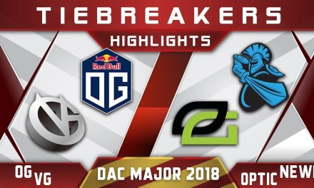 OG vs VG / OpTic vs Newbee – DAC 2018 Major Highlights Dota 2