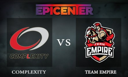 Complexity vs Empire Game 2 – EPICENTER XL, Group Stage Day 3 – Dota 2