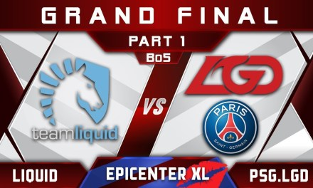 Liquid vs PSG.LGD Grand Final EPICENTER XL 2018 Major Highlights Dota 2 – Part 1