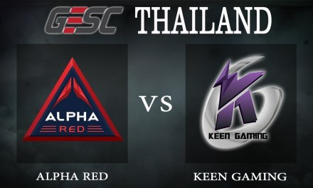Alpha Red vs Keen Gaming bo1 – GESC Thailand, Group Stage Day 1 – Dota 2