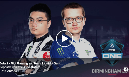 Vici vs Team Liquid Game 2 – ESL One Birmingham Group Stage