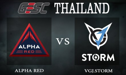 Alpha Red vs VGJ.Storm bo1 – GESC Thailand, Group Stage Day 2 – Dota 2