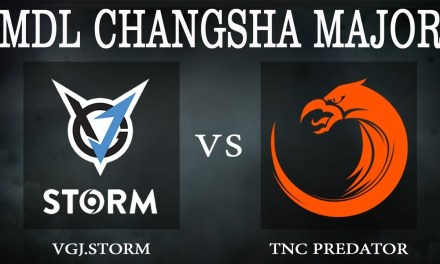 VGJ.Storm vs TNC game 1 – MDL Changsha Major, Group Stage Day 2 – Dota 2