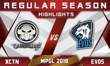 Execration vs EVOS MPGL Asian Championship 2018 Highlights Dota 2
