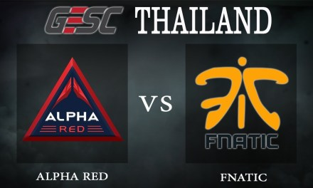 Fnatic vs Alpha Red bo1 – GESC Thailand, Group Stage Day 1 – Dota 2