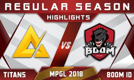 TaskUs Titans vs Boom ID MPGL Asian Championship 2018 Highlights Dota 2