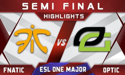 Fnatic vs OpTic Semi Final ESL One Birmingham Major 2018 Highlights Dota 2