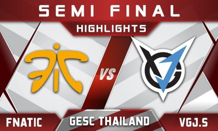 Fnatic vs VGJ.Storm Semi Final GESC Thailand 2018 Minor Highlights Dota 2