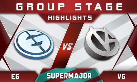 EG vs VG – New Roster! China Supermajor 2018 Highlights Dota 2