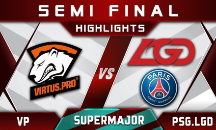 VP vs PSG.LGD Semi Final China Supermajor 2018 Highlights Dota 2