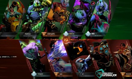 PSG.LGD vs nfamous Game 1 | China Dota 2 Supermajor Group Stage Day 2