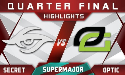 Secret vs OpTic China Supermajor 2018 Highlights Dota 2