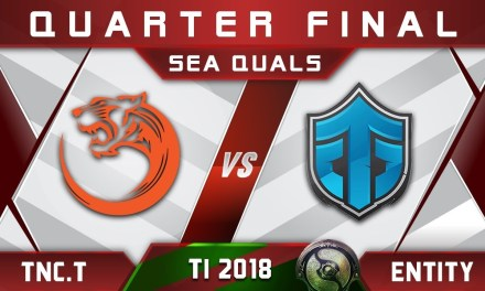 TNC.Tigers vs Black^ Entity Gaming – TI8 The International 2018 Open SEA #1 Highlights Dota 2