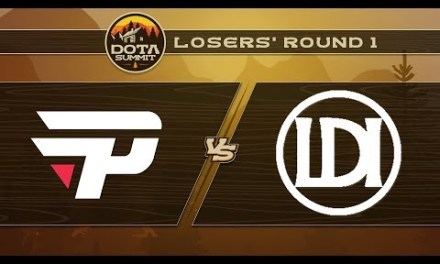 paiN vs Let's Do It Game 2 – DOTA Summit 9: Losers' Round 1