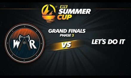 Wind and Rain vs Let's Do It Game 3 – BTS Summer Cup Phase 3: Grand Finals