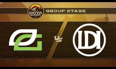 OpTic vs Let's Do It Game 1 – DOTA Summit 9: Group Stage